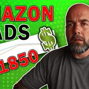 COOL $1850 KDP Profits from One Amazon Ads Campaign - Low Content Books