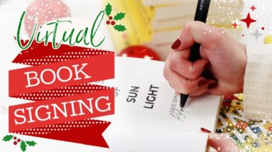 LIVE Book Signing! ✨📚 Virtual Holiday Event | 100 Days of Sunlight