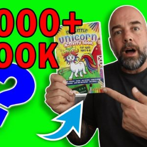 How to Turn This Book into a $2000 a Month Best Seller - KDP Low Content Activity Book