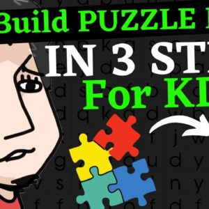 How To Make a Low Content KDP Puzzle Book To Sell On Amazon