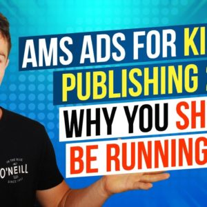 Amazon Marketing Services AMS Ads For Kindle Publishing 2018 - Why you should be running AMS
