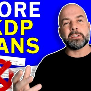 3 More Ways to KDP Account SUSPENSION and BLOCKED