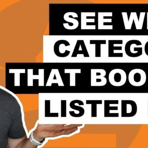 How to See All Book Categories a Book Is Listed For: It's more than 3!