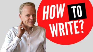 How To Write a Book?