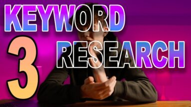 Top 3 Favorite Ways to do Amazon KDP Keyword Research