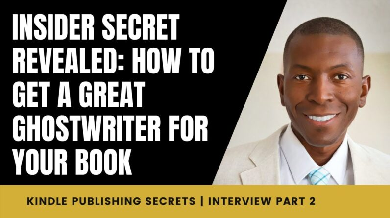 INSIDER SECRET REVEALED: How to Get a GREAT Ghostwriter For Your Book | Interview w/ Linda Allen 2/7