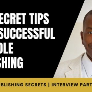 Two Secret Tips to be Successful in Kindle Publishing | Interview with Kelly Conklin | Part 4/4