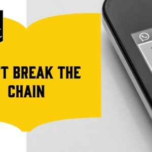 How to Boost Your Word Count (14/18): Don't Break the Chain