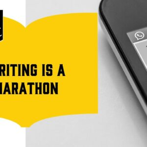 How to Boost Your Word Count (4/18): Writing is a Marathon