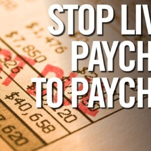 How to STOP Living Paycheck To Paycheck Quickly -  Tell Your Boss Take This Job and Shove It!!!