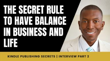 The Secret Rule to Have Balance in Business and Life   Sean Donahoe Interview   2/7