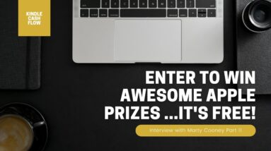 👀Enter to Win Awesome Apple Prizes  [...it's FREE] | Interview with Marty Cooney | 11/11
