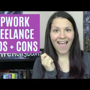 My Upwork Freelance Experience | Pros and Cons | Writer Side Hustle