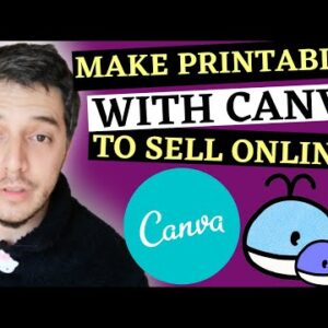 Create Printables With Canva To Sell Online With Free Pinterest Traffic