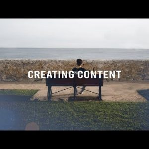 Creating content is hard, but you should do it.