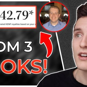 How Only A Couple Books Make Him $5k to $10k Per Month On Amazon