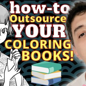 How To Cheaply Outsource Your Amazon KDP Coloring Books On Fiverr
