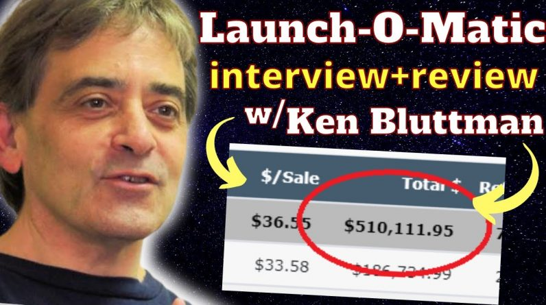 Launch-O-Matic Interview: How Ken Bluttman Made $500K In Two Years